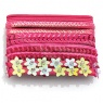 04077 Mixed Hair Elastic Set Pink 1 set