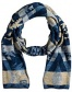 Blue Multi Scarf