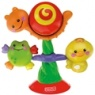 Fisher Price Animals Spin 'n Play Suction Toy