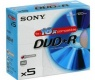 SONY 5 x DVD+R - 4,7 Gt (5DPR120AS16)